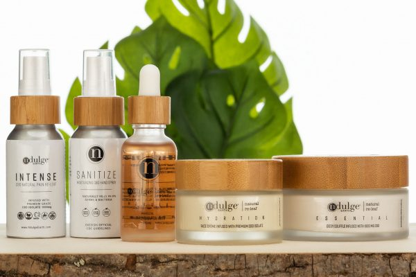 cbd pain relief & skin care products