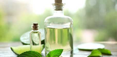 Menthol Derived from the Peppermint plant, menthol has been used for for ages because of its local anesthetic and counterirritant properties. It aids in pain relief and has a cooling effect on the skin. It's also excellent for painful sunburns or headaches.