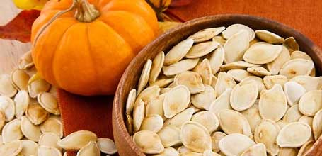 Pumpkin Seed Oil  Pumpkin seed oil is rich in vitamin E, zinc, omega 3- and 6- fatty acids as well as antioxidants. This helps the skin retain moisture and fight free radicals resulting in increased firmness, better hydration, smoother skin, and reduction of redness or acne.
